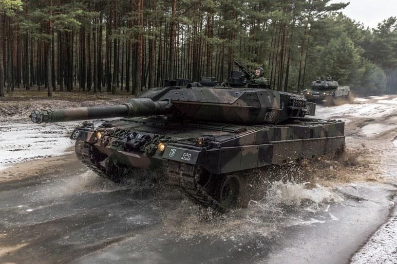 Nowoczesne czołgi zostaną odcięte od zaplecza logistycznego /11. LDKP /INTERIA.PL/materiały prasowe