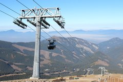 Nowoczesne kolejki narciarskie na słowackim Chopoku
