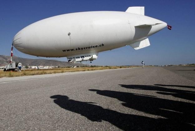 Nowoczesne sterowce mogą stać się alternatywą dla samolotów /AFP