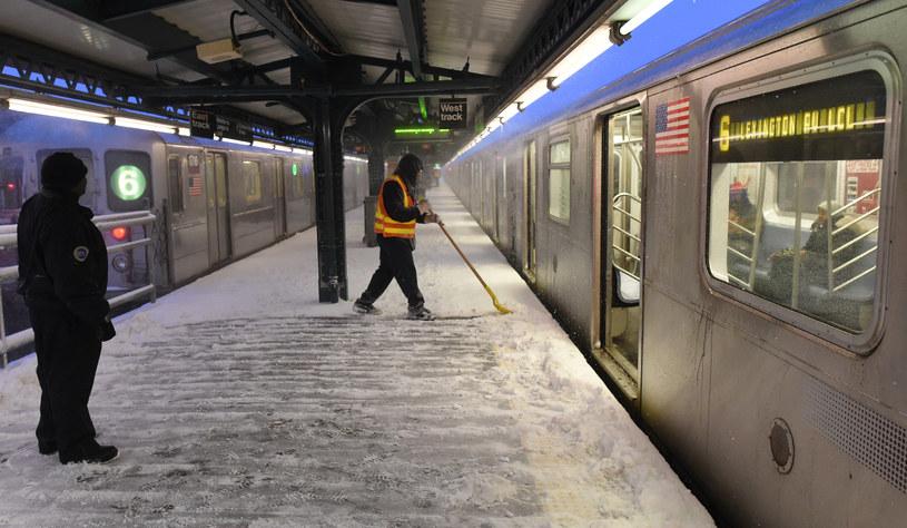 Nowojorskie metro /zdj. ilustracyjne /AFP