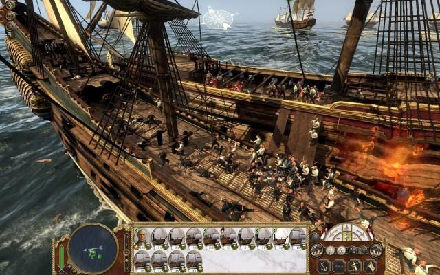 Nowością w grze są pasjonujące bitwy morskie! /INTERIA.PL