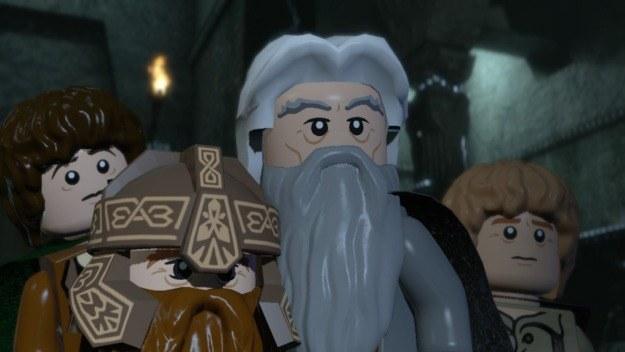 Nowością w serii LEGO ma być dokładne odwzorowanie scen z filmu w przerywnikach filmowych /Informacja prasowa