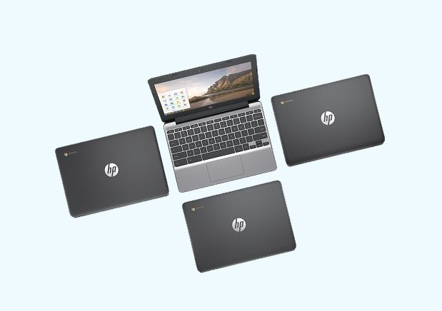 Nowy Chromebook od HP będzie wyposażony w dotykowy ekran /materiały prasowe