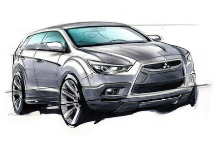 Nowy crossover Mitsubishi /