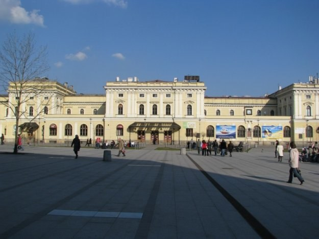 Nowy dworzec będzie elementem nowoczesnego węzła komunikacyjnego /INTERIA.PL