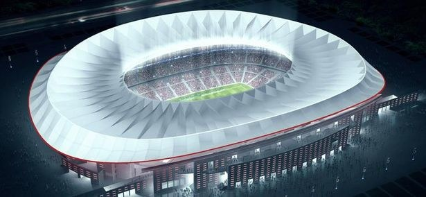 Nowy Estadio La Peineta /materiały prasowe