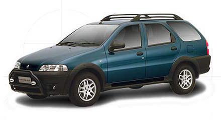 Nowy Fiat Palio Weekend Adventure (kliknij) /INTERIA.PL