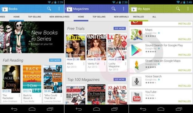 Nowy Google Play.   Fot. Droid Life /materiały prasowe