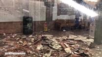 Nowy Jork: Runął fragment stropu 110-letniej stacji metra