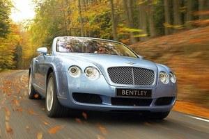 Nowy kabriolet Bentleya