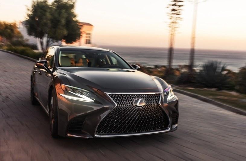 Nowy Lexus LS /INTERIA.PL/informacje prasowe