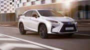 Nowy Lexus RX Sport w dynamicznej stylizacji