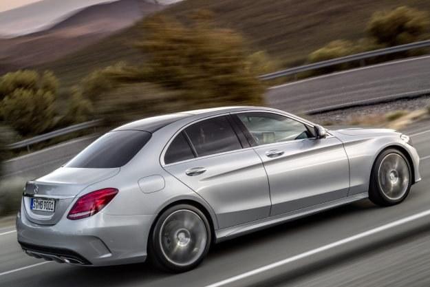 Nowy Mercedes klasy C /PAP