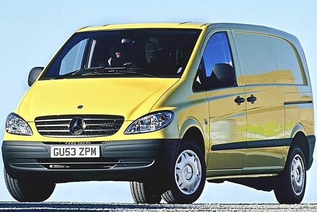 Nowy Mercedes Vito (kliknij) /INTERIA.PL