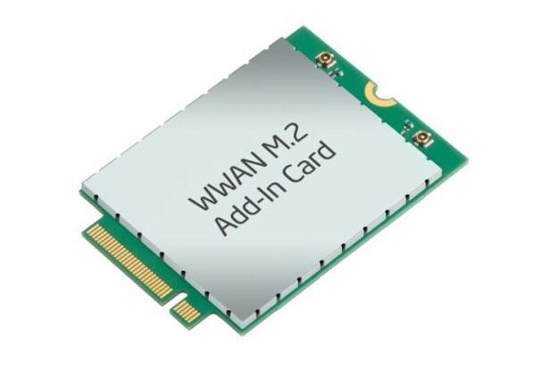 Nowy moduł PCIe M.2 LTE do bezprzewodowej transmisji danych, który trafi na rynek w roku 2014 wraz z tabletami i Ultrabookami /materiały prasowe
