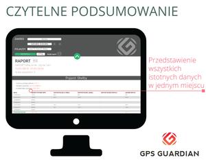 Nowy moduł raportowania od GPS Guardian