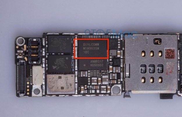 Nowy moduł we wnętrzu iPhone'a 6s.   Fot. 9to5Mac /materiały prasowe