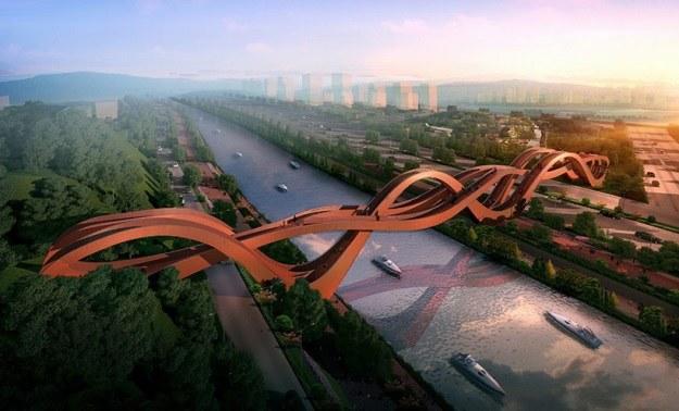 Nowy most powstanie w miejscowości Changsa (Fot. NEXT Architects) /materiały prasowe