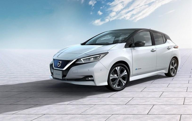 Nowy Nissan LEAF – /INTERIA.PL/informacje prasowe