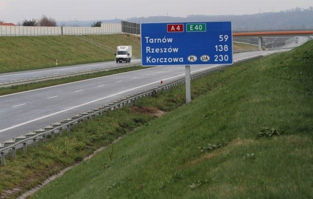 Nowy odcinek autostrady A4 /PAP