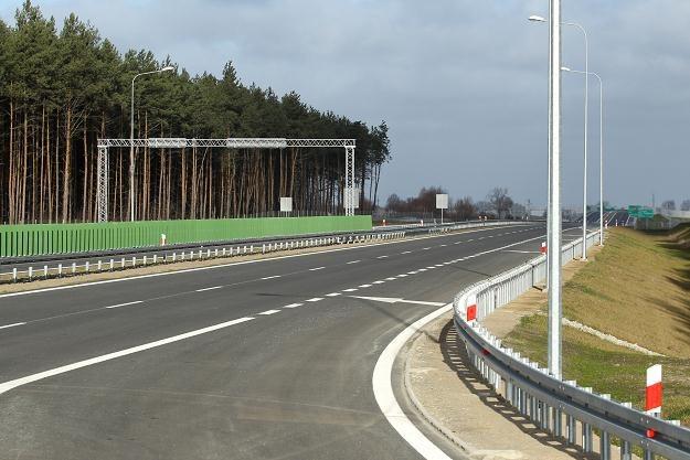 Nowy odcinek drogi /PAP