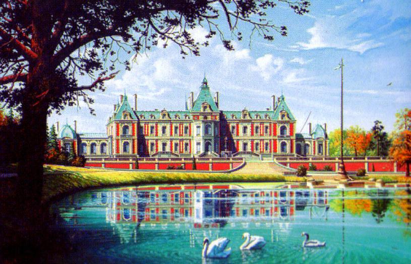 """Nowy Pałac (Neue Schloss) zwany """"Małym Wersalem"""", fot. : A. Kuzio-Podrucki, M. Ogiński /"""
