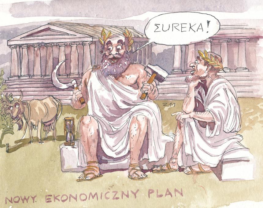 Nowy plan ratunkowy dla Grecji