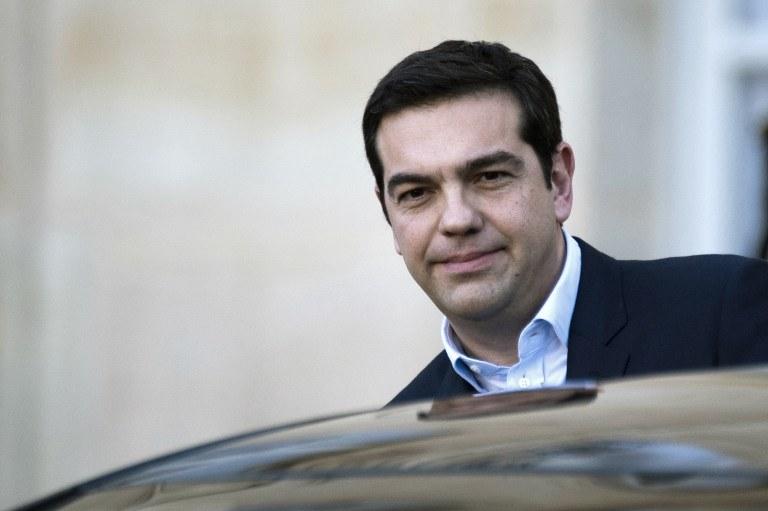 Nowy premier Grecji Aleksis Cipras /AFP