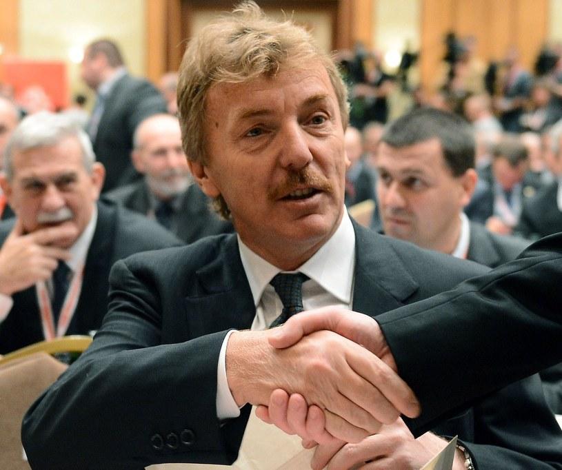 Nowy prezes PZPN Zbigniew Boniek /AFP