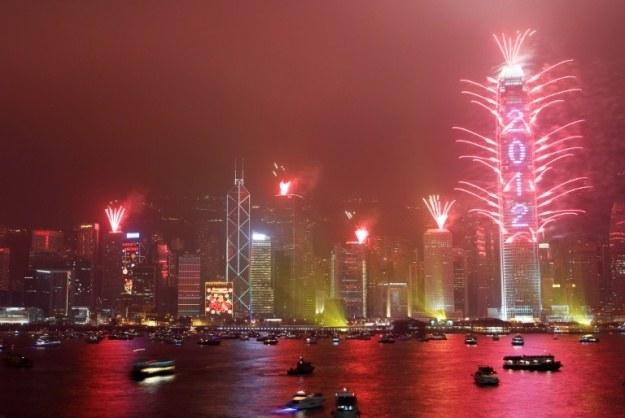 Nowy rok w Hongkongu to nie tylko radość, ale i obawy przed dalszą dominacją rządu w Pekinie /AFP