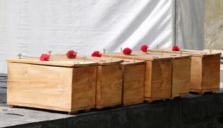 Nowy Sącz: Ekshumacji szczątków żołnierzy Armii Czerwonej