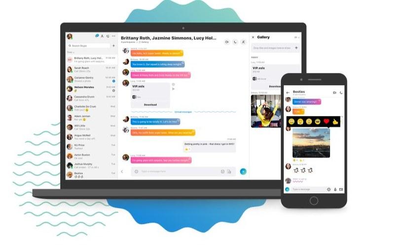 Nowy Skype został udostępniony dla pierwszych testerów /materiały prasowe