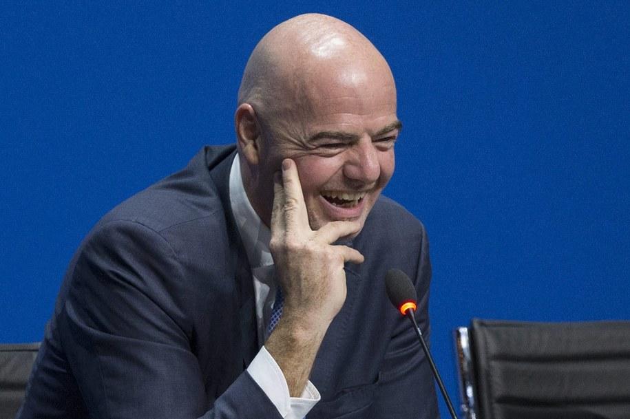 Nowy szef FIFA /PATRICK B. KRAEMER /PAP/EPA