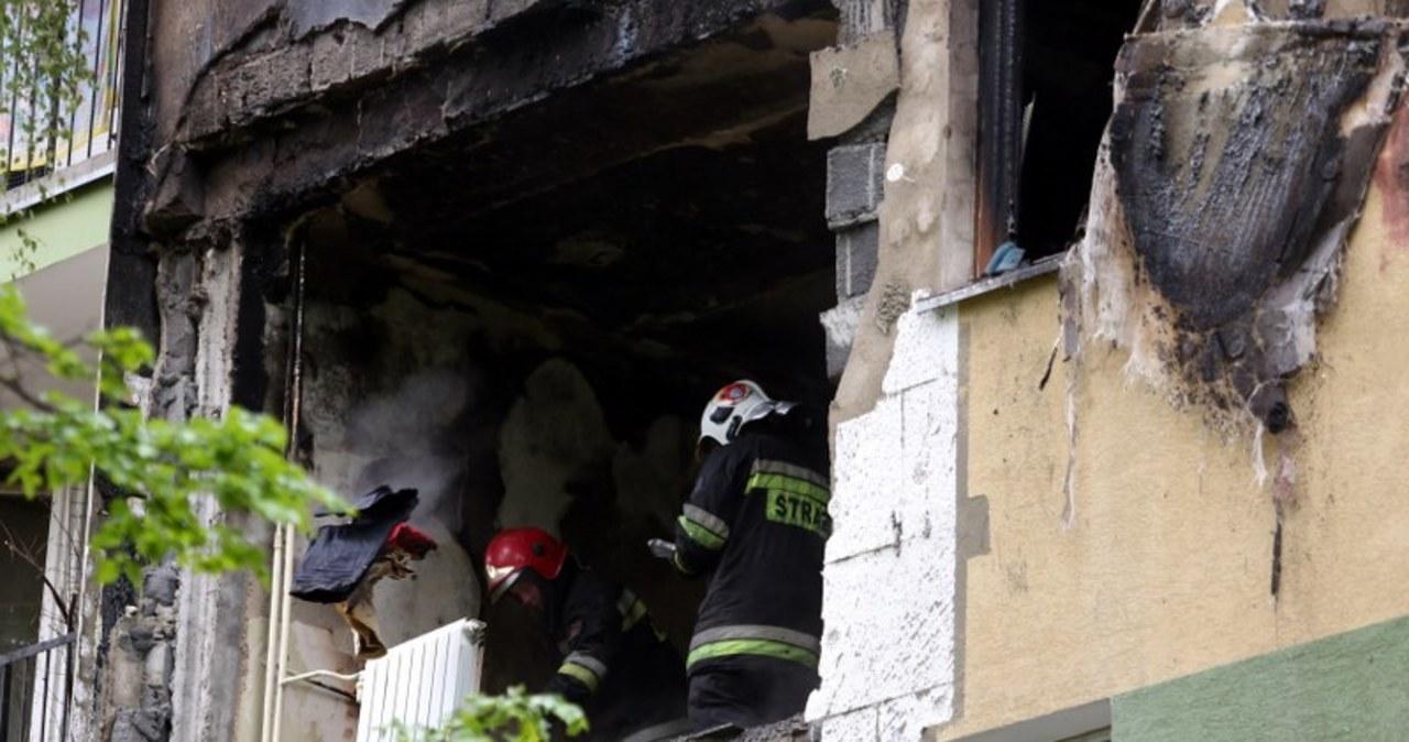 Nowy Targ: strażacy na miejscu wybuchu