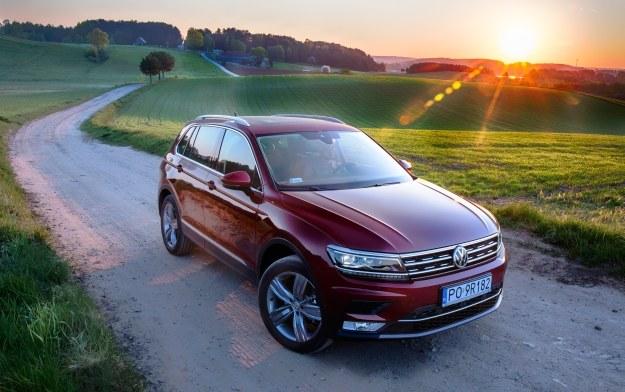 Nowy Volkswagen Tiguan /INTERIA.PL/informacje prasowe