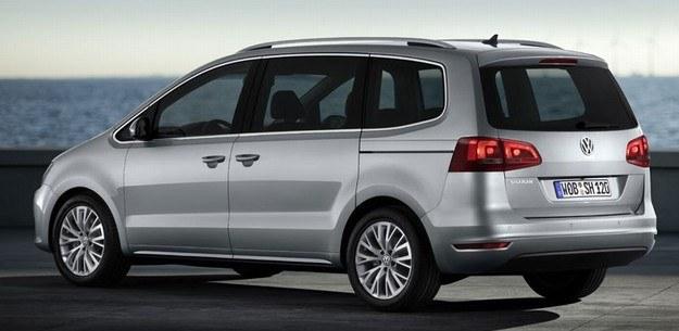 Nowy VW sharan /