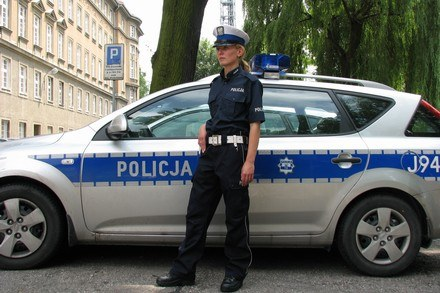 Nowy wzór mundurów /Policja