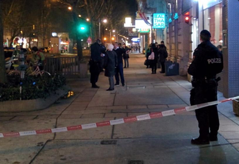 Nożownik zaatakował w pobliżu parku Wiener Prater /Twitter