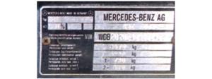 numer silnika /Motor