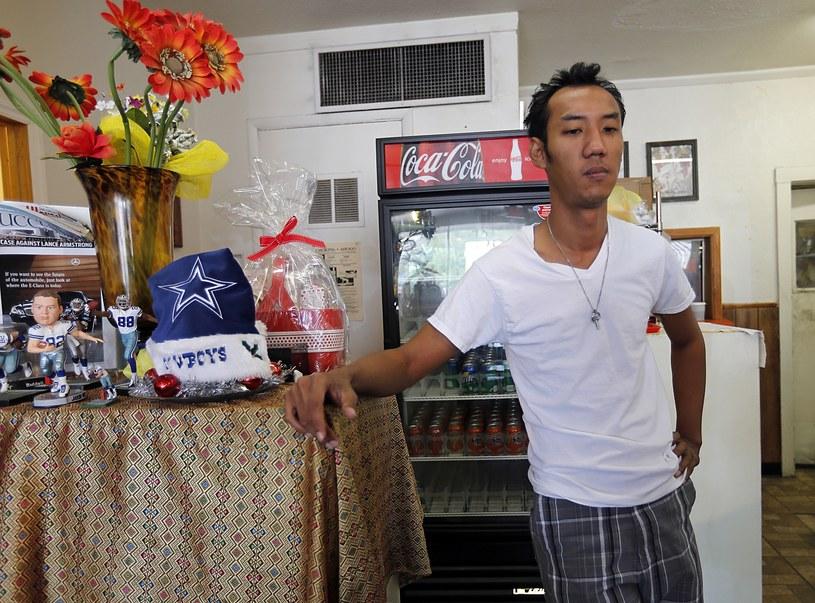 Nutpisit Suthamtewakul - najlepszy przyjaciel winnego tragedii /AFP
