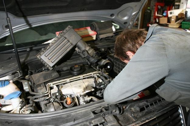 O dobrego mechanika dzisiaj trudno... /