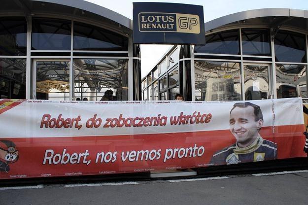O Kubicy pamiętają nie tylko w jego zespole F1 / Fot: Imago Sport and News /Agencja SE/East News