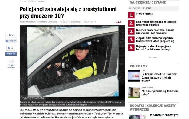 """O sprawie pisze """"Gazeta Wyborcza"""" /"""