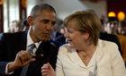 Obama rozmawiał telefonicznie z Merkel