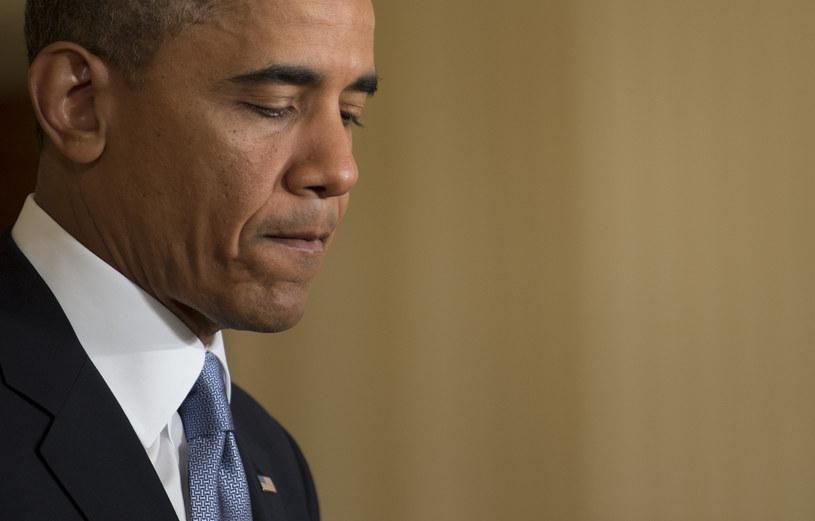 Obama twierdzi, że pierwszy raz o sprawie dowiedział się z doniesień medialnych /AFP