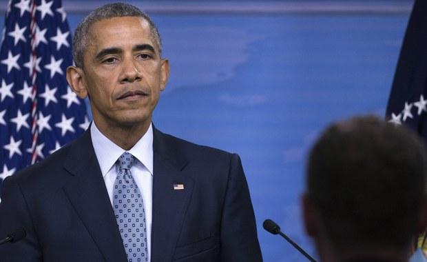 Obama: USA są z Ukrainą w obliczu rosyjskiej agresji