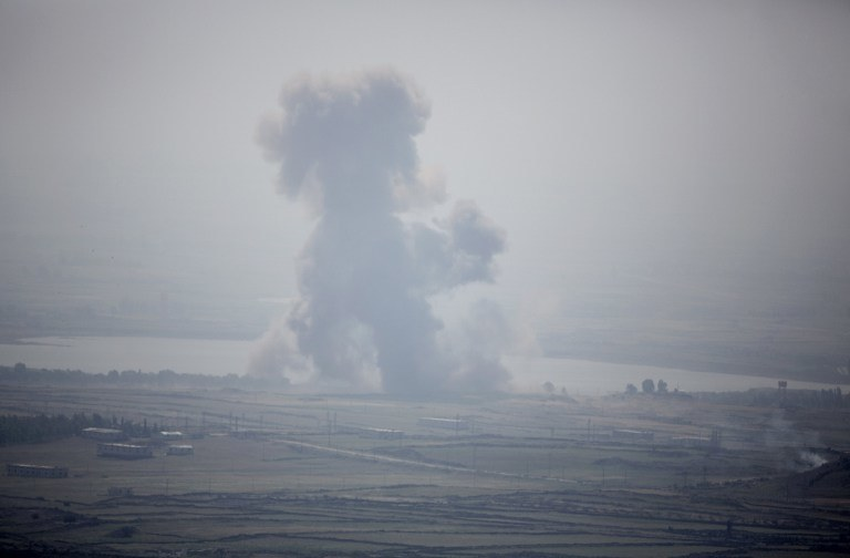 Obama: Użycie broni chemicznej w Syrii zagraża także naszemu bezpieczeństwu /AFP
