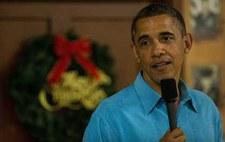 Obama wraca wcześniej ze świąt, bo w kraju kryzys