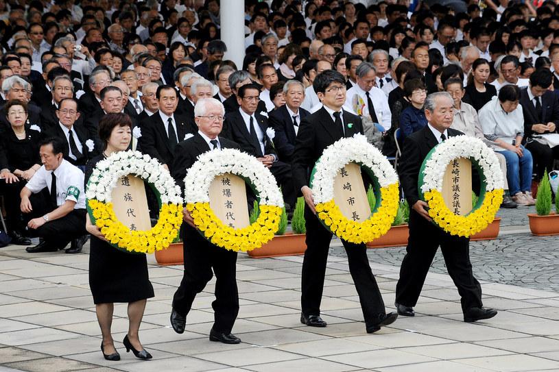 Obchody 72. rocznicy zrzucenia przez USA bomby atomowej na Nagasaki /AFP