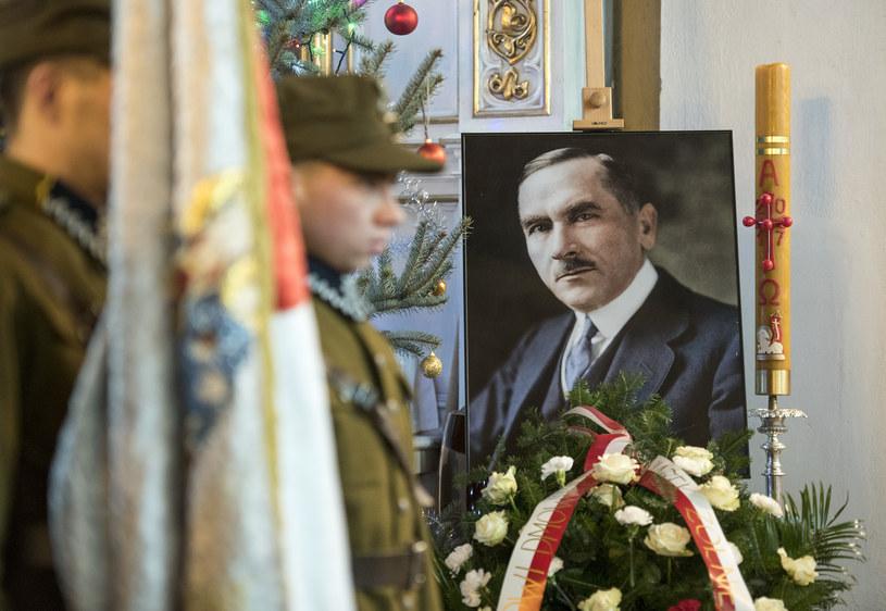 Obchody rocznicy śmierci Romana Dmowskiego /MICHAL KOSC /Agencja FORUM